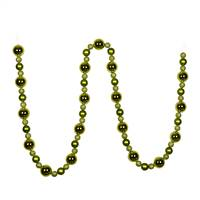 9' Lime Assorted Ball Garland