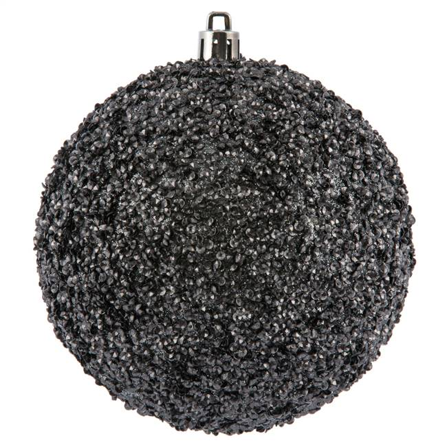 "4"" Limestone Beaded Ball Drilled 6/Bag"