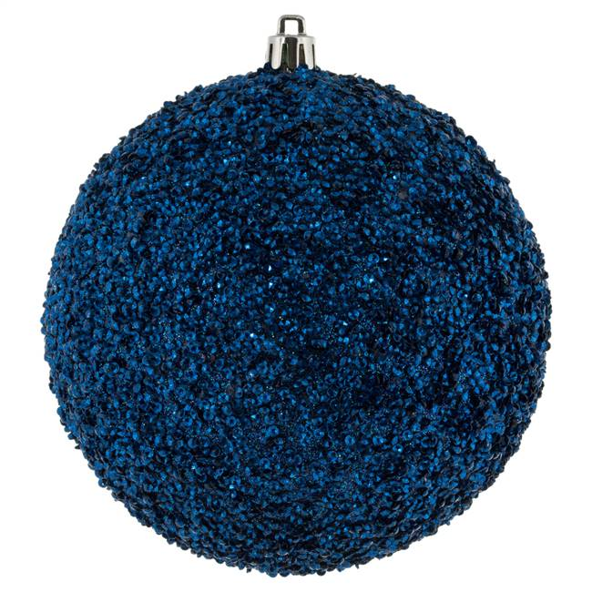"4.75"" Midnight Blue Bead Ball Drill 6/Bg"