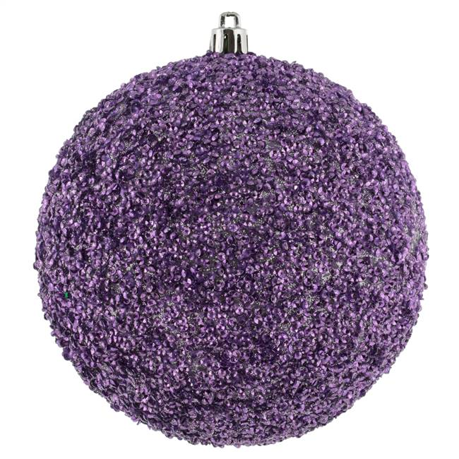 "4.75"" Lilac Bead Ball Drill 6/Bag"