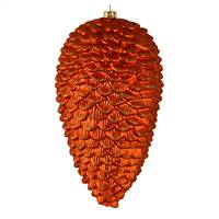 "7"" Burnish Org Matte Glitt Pinecone 4/Bg"