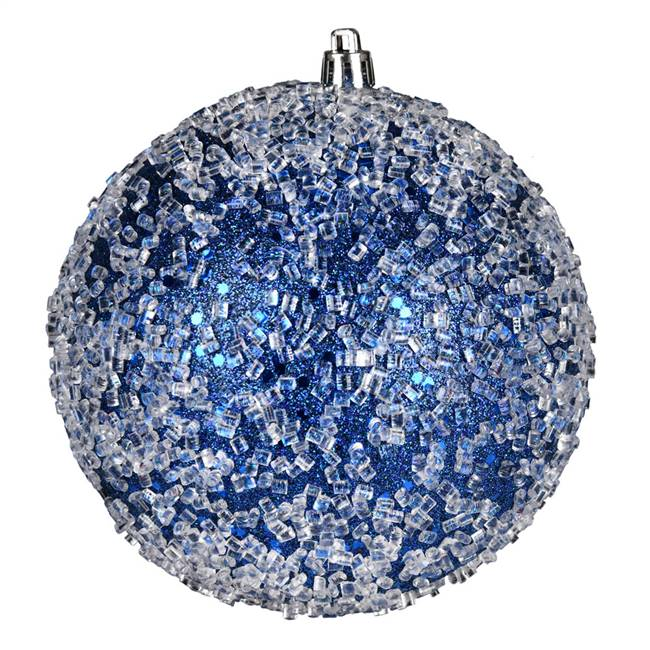 "10"" Midnight Blue Glitter Hail Ball"
