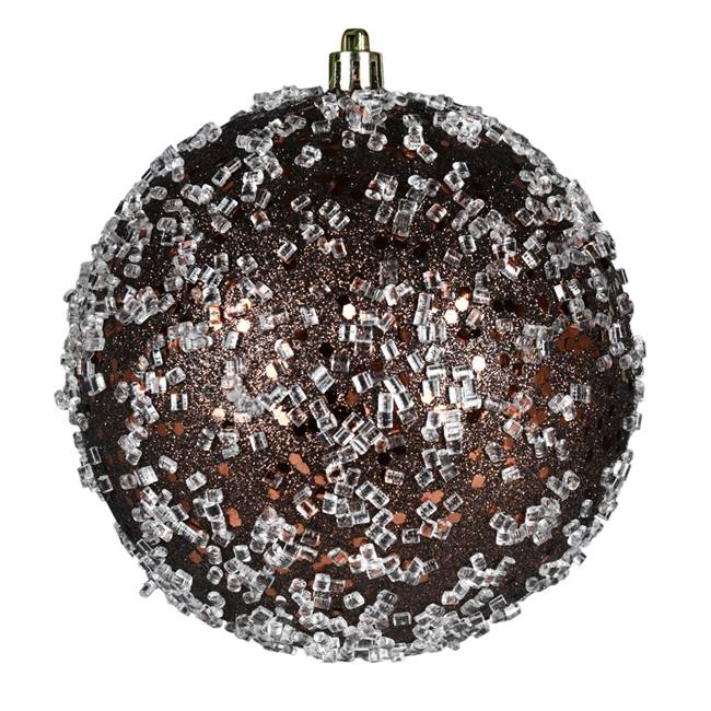 "10"" Chocolate Glitter Hail Ball"