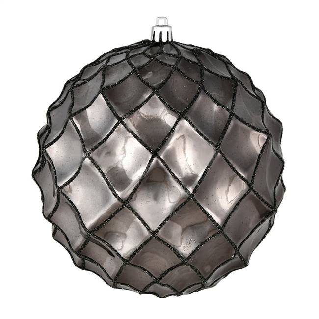 "4"" Gunmetal Shiny Form Ball 6/Bag"