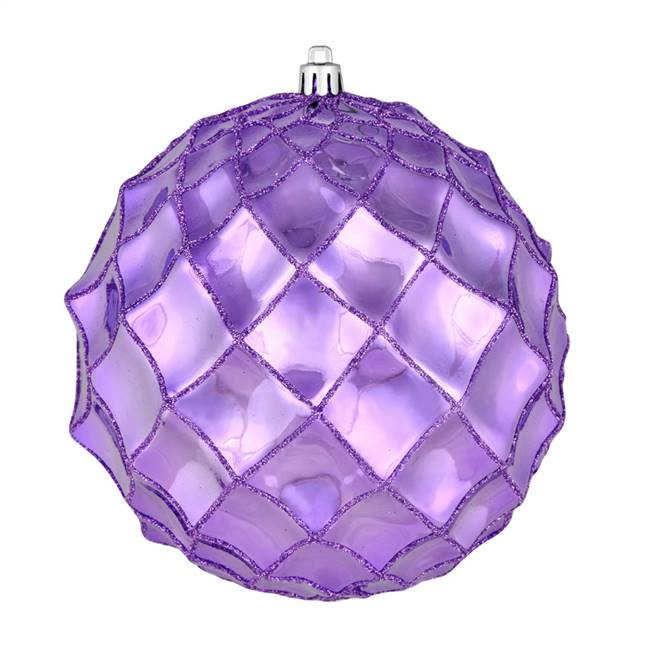 "6"" Lavender Shiny Form Ball 4/Bag"
