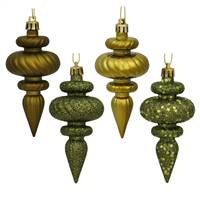 "4"" Olive Finial 4 Finish Asst 8/Bx"