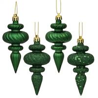 "4"" Emerald Finial 4 Finish Asst 8/Bx"