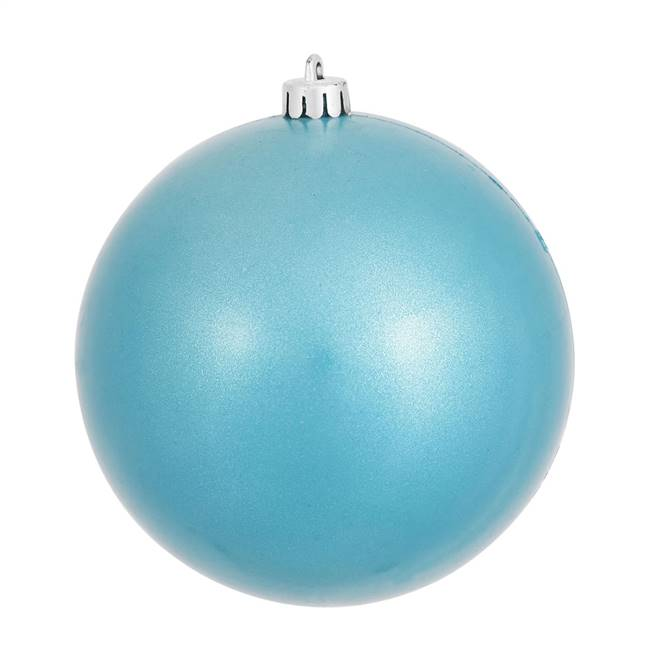 "4"" Turquoise Candy Ball UV Drilled 6/Bag"