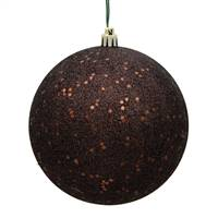 "4"" Chocolate Sequin Finish Ball"