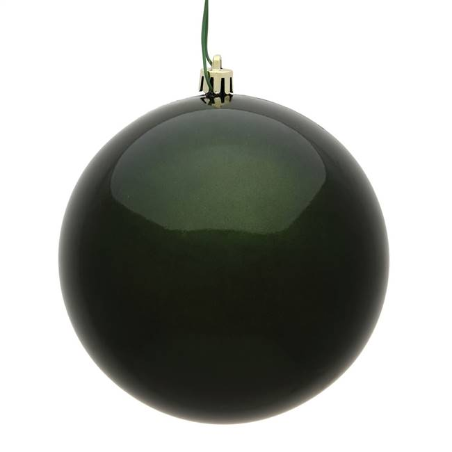 "4"" Moss Green Candy Ball UV 6/Bag"