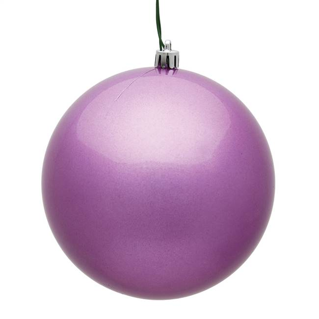 "4"" Orchid Candy Ball UV 6/Bag"