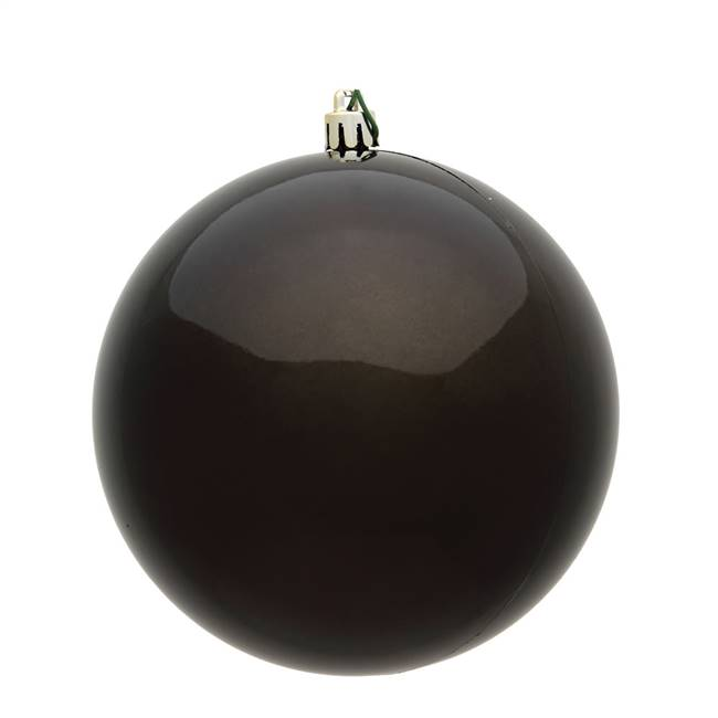 "4"" Gunmetal Shiny Ball UV 6/Bag"
