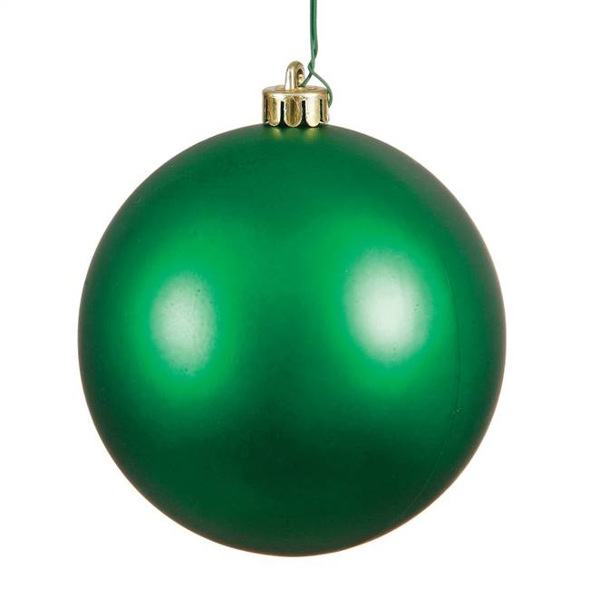 "4.75"" Green Matte Ball UV Shatterproof"