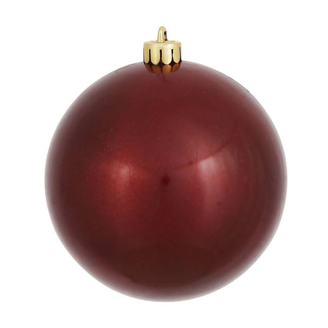 "4.75"" Burgundy Pearl Finish Ball 1/Bag"