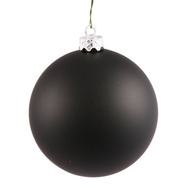 "4.75"" Black Matte Ball UV Shatterproof"