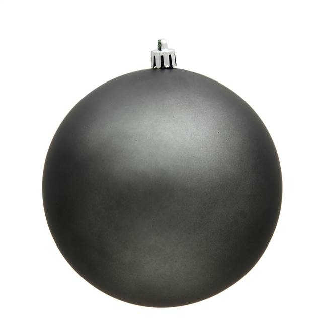 "4.75"" Pewter Matte Ball UV Drilled 4/Bag"