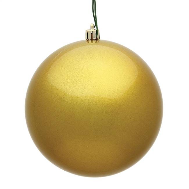 "4.75"" Gold Candy Ball UV 4/Bag"