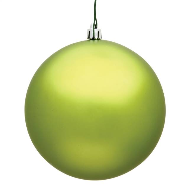 "4.75"" Lime Matte Ball UV 4/Bag"