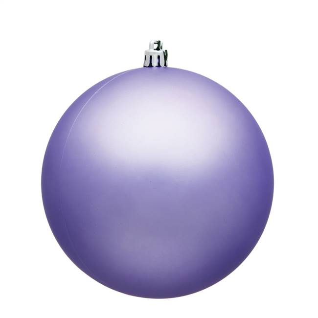 "4.75"" Lavender Matte Ball UV 4/Bag"