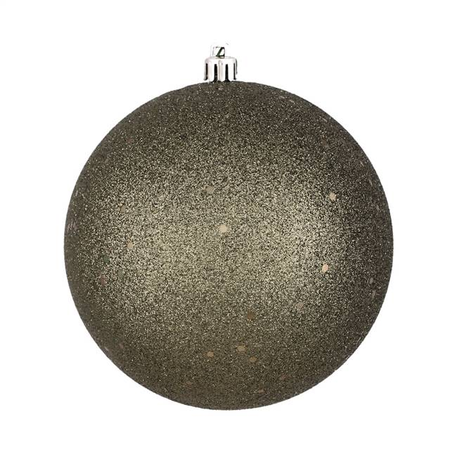 "6"" Limestone Sequin Ball Drilled 4/Bag"