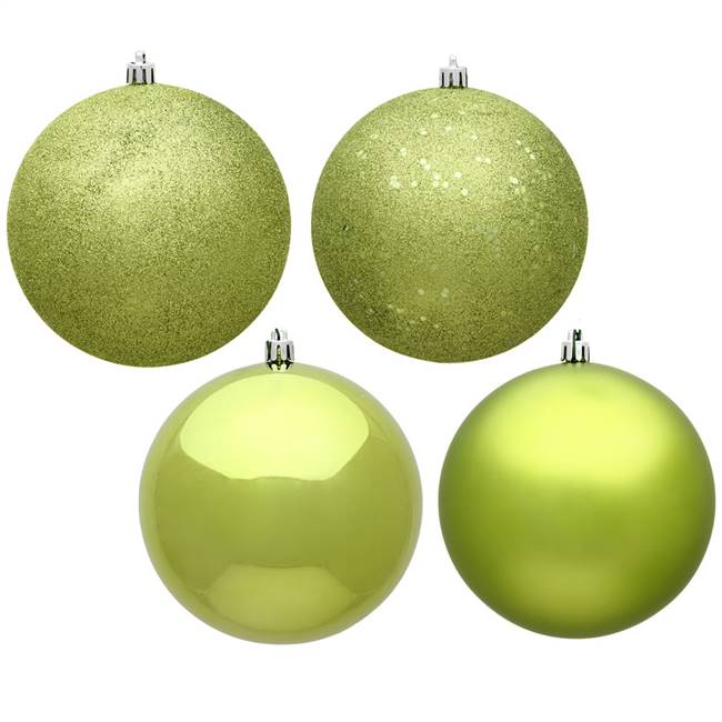 "6"" Lime Ball 4 Finish Asst 4/Bag"