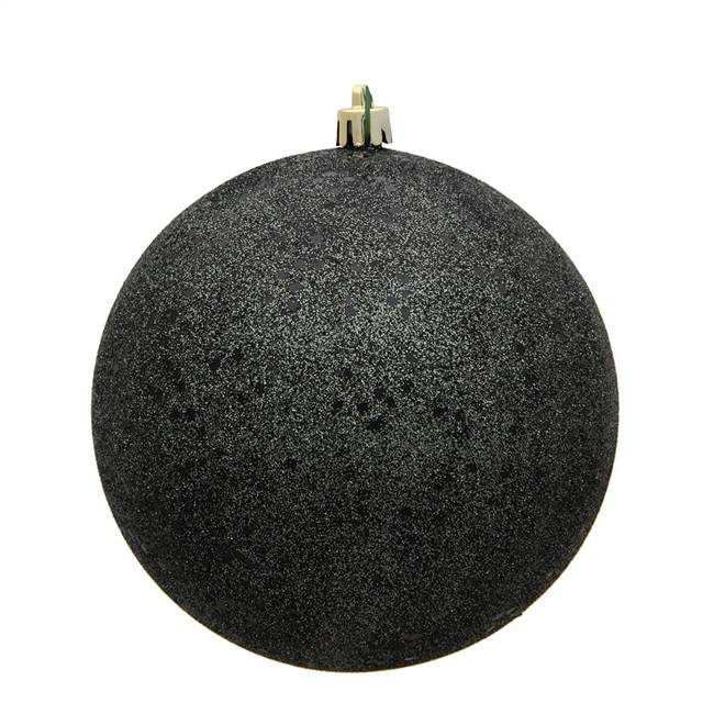 "6"" Gunmetal Sequin Ball Drilled 4/Bag"