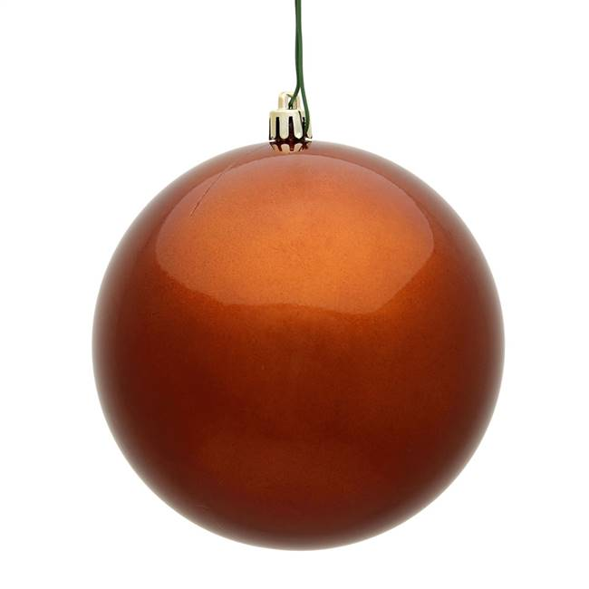 "6"" Copper Candy Ball UV 4/Bag"