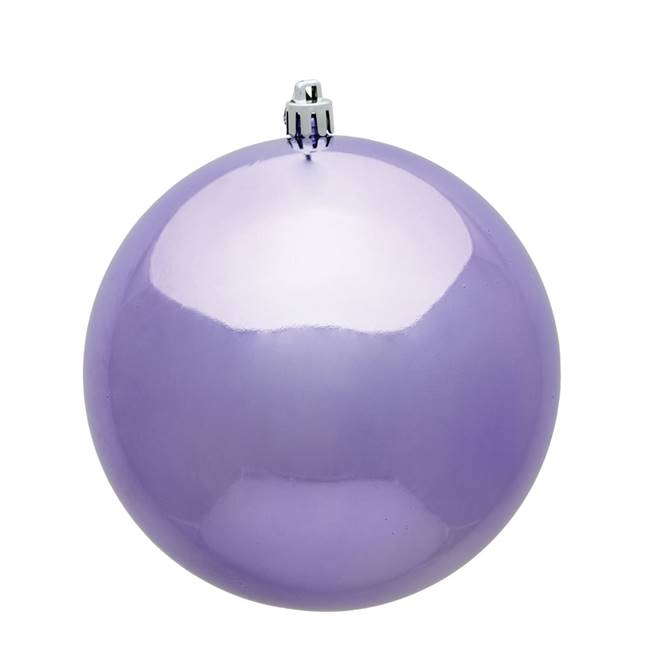 "10"" Lavender Shiny Ball UV Drilled Cap"