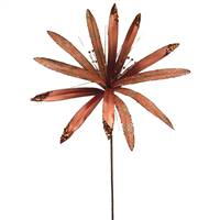 "36"" Copper Papyrus 17"" Flower"