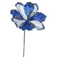 "20"" Blue Amaryllis, 9"" Flower 3/Bag"