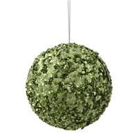 "3.5"" Lime Sparkle Sequin Ball"