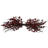 "30"" Red, Burgundy Outdoor Berry Centre P"