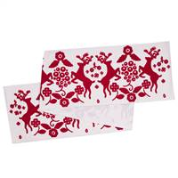 "12"" x 60"" Scandia Christmas Table Runner"