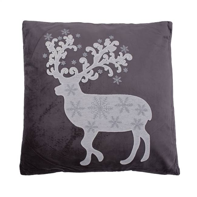 "18"" x 18"" Nordic Deer Pillow"