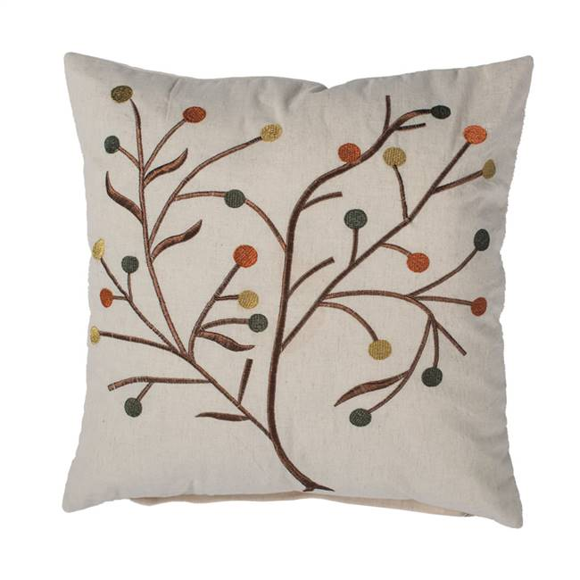"18"" x 18"" Harvest Branch Pillow"
