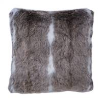 "18"" x 18"" Snow Mink Collection Pillow"
