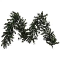 "9' x14"" Oregon Fir Garland 150T"