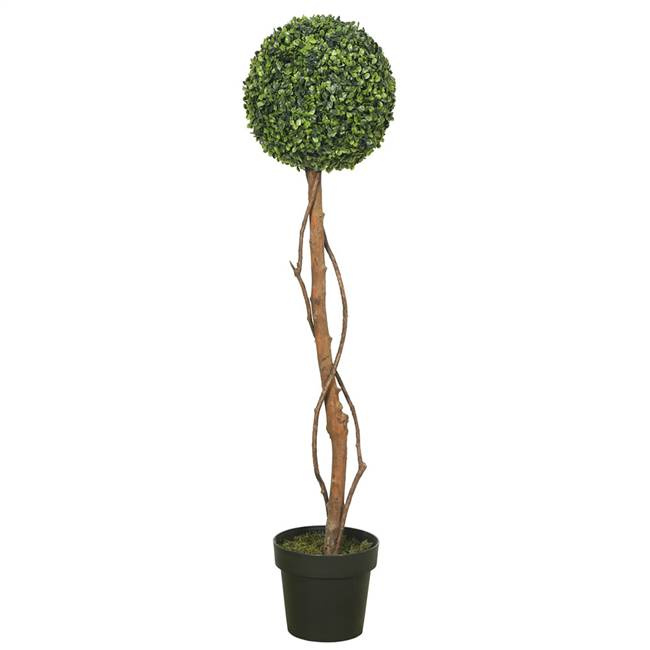 "39"" Boxwood Topiary w/ 8"" Pot-11"" Ball"