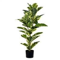 "38"" Potted Oak Tree Real Touch Leaves"