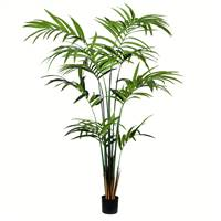 8' Potted Kentia Palm 216 Leaves