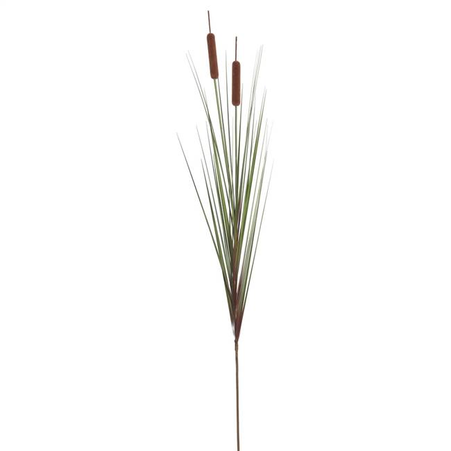 "42"" Grass Cattail Spray 4/pk"