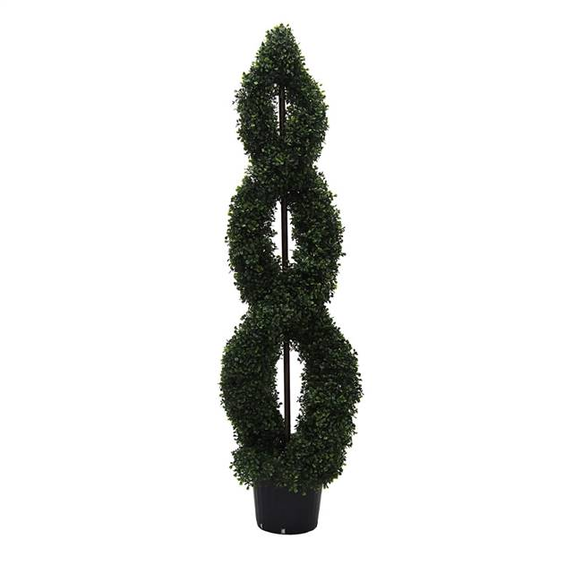 5' Boxwood Double Spiral (UV)