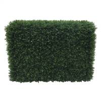"L36""xW12""xH24"" Green Cedar Hedge UV"