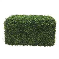 "L24""xW12""xH12"" Boxwood Hedge UV"