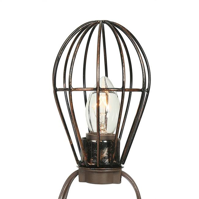 "10Lt C7 Metal Lamp Cage Set 24""Sp 20'L"