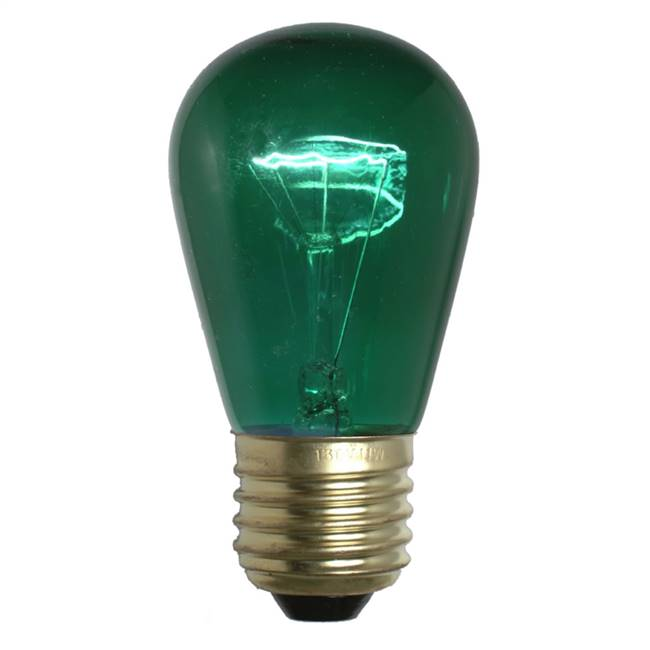 Green Trans Med Base 130V 11 Watt Bulbs