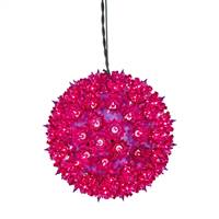 "100Lt x 7.5"" Purple Twinkle Star Sphere"