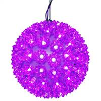 "50Lt x 6"" LED Purple Starlight Sphere"