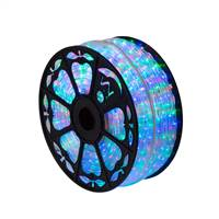 "150' x .5"" Multi LED Rope Light 120V"
