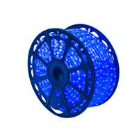"150' x .5"" Blue LED Rope Light 120V"
